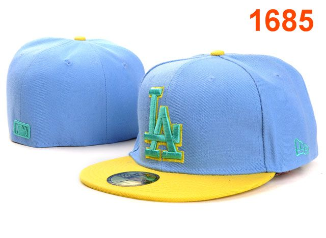 Los Angeles Dodgers MLB Fitted Hat PT13
