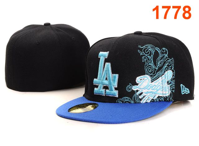 Los Angeles Dodgers MLB Fitted Hat PT21