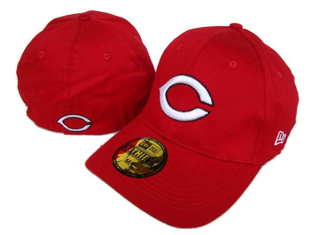Cincinnati Reds Red Peaked Cap DF 0512