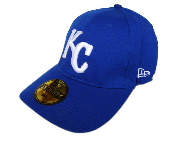 Kansas City Royals Blue Peaked Cap DF 0512