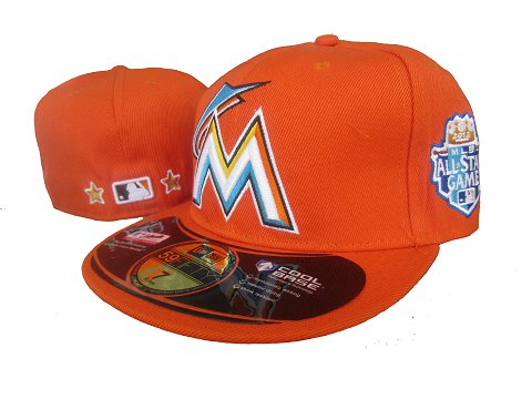 Miami Marlins 59 Fifty Fitted MLB Hat LX3