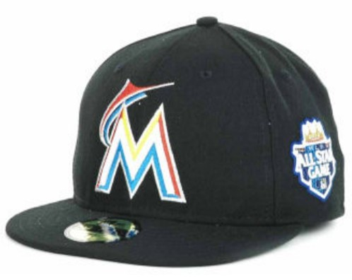 Miami Marlins 2012 MLB All Star Fitted Hat SF07