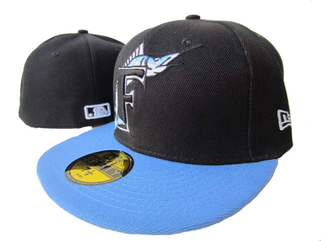Miami Marlins MLB Fitted Hat LX1
