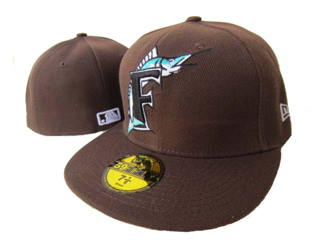 Miami Marlins MLB Fitted Hat LX2