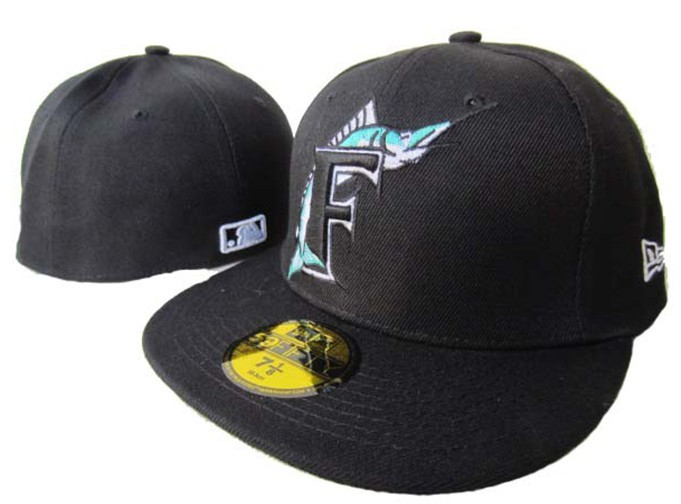 Miami Marlins MLB Fitted Hat LX3