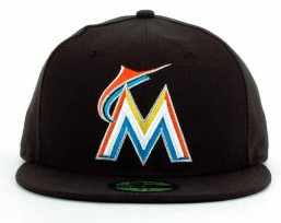 Miami Marlins MLB Fitted Hat sf1