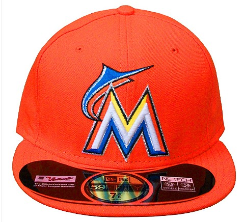 Miami Marlins MLB Fitted Hat sf2