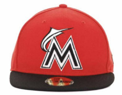 Miami Marlins MLB Fitted Hat sf3