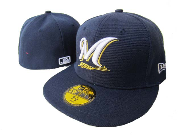 Milwaukee Brewers MLB Fitted Hat LX