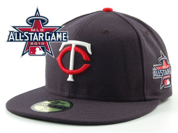 Minnesota Twins 2010 MLB All Star Fitted Hat Sf15