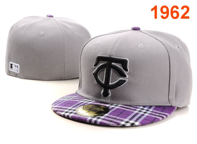 Minnesota Twins MLB Fitted Hat PT01
