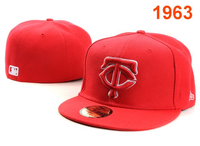 Minnesota Twins MLB Fitted Hat PT02