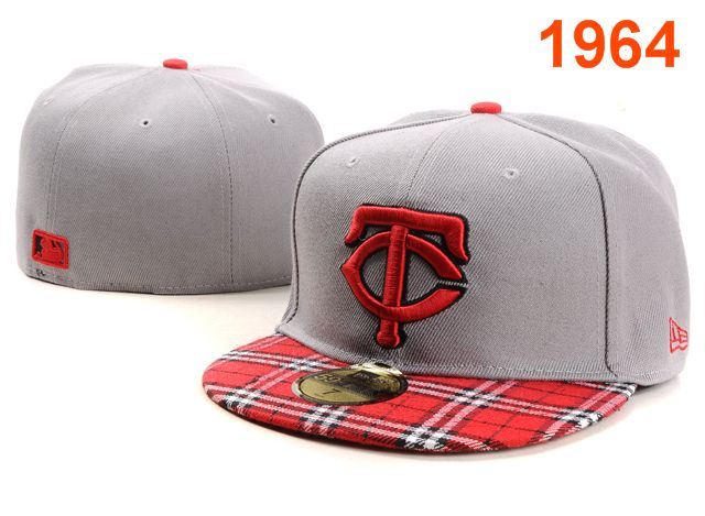 Minnesota Twins MLB Fitted Hat PT03