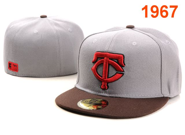 Minnesota Twins MLB Fitted Hat PT05