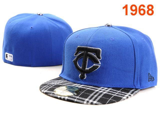 Minnesota Twins MLB Fitted Hat PT06