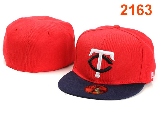 Minnesota Twins MLB Fitted Hat PT07