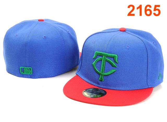 Minnesota Twins MLB Fitted Hat PT09