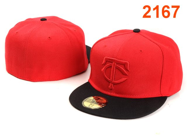 Minnesota Twins MLB Fitted Hat PT10