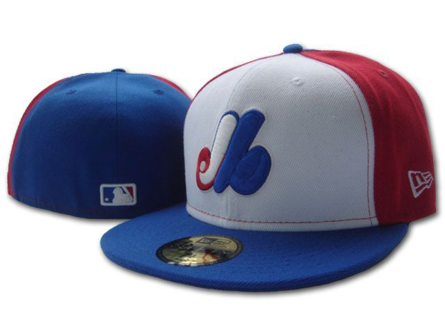 Montreal Expos MLB Fitted Hat sf1