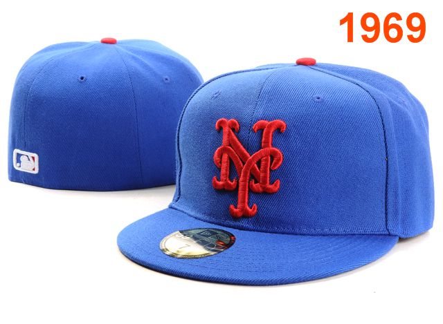 New York Mets MLB Fitted Hat PT1