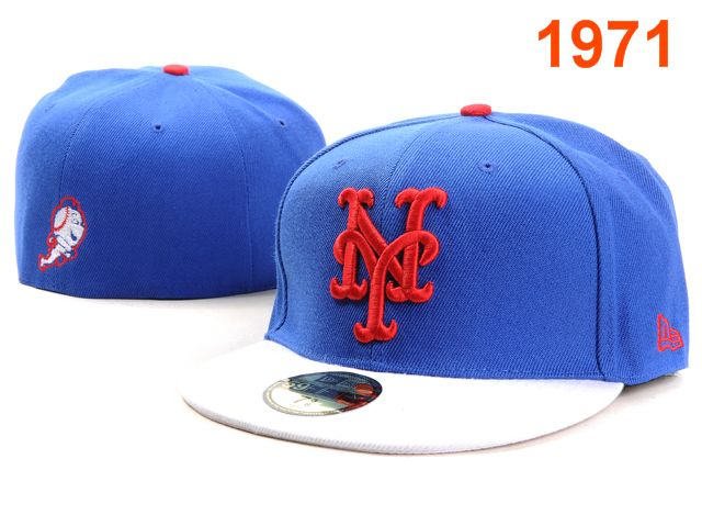 New York Mets MLB Fitted Hat PT2