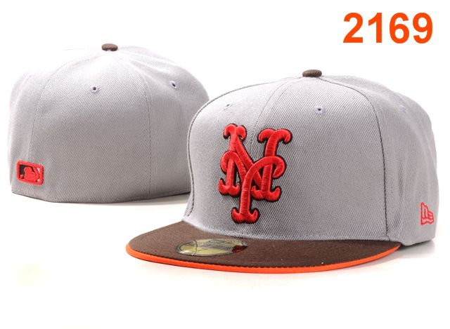 New York Mets MLB Fitted Hat PT3