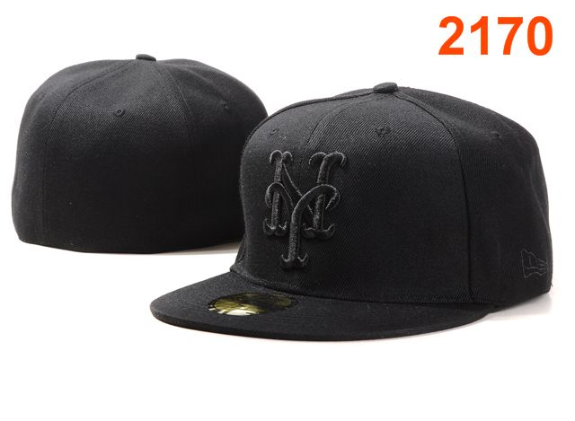New York Mets MLB Fitted Hat PT4