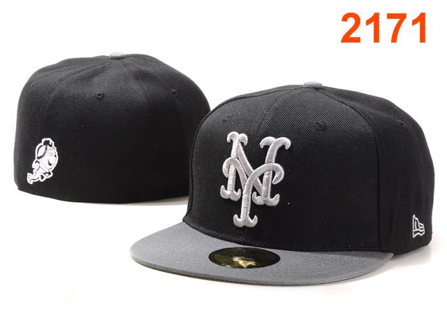 New York Mets MLB Fitted Hat PT5
