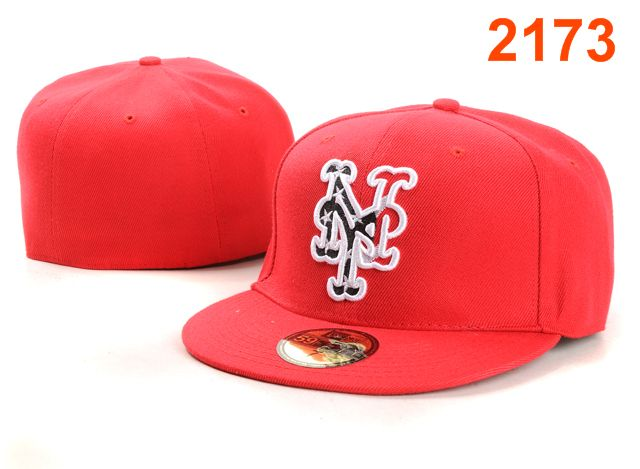New York Mets MLB Fitted Hat PT7