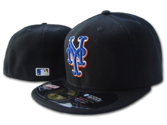 New York Mets MLB Fitted Hat SF1