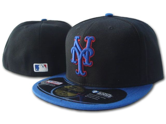 New York Mets MLB Fitted Hat SF2