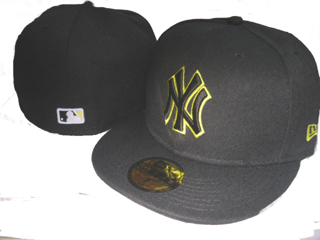 New York Yankees MLB Fitted Hat LX39