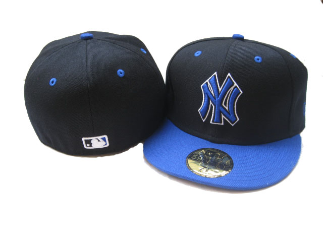 New York Yankees MLB Fitted Hat LX40