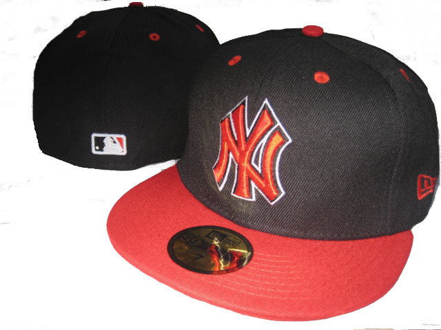 New York Yankees MLB Fitted Hat LX43