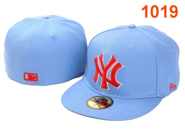 New York Yankees MLB Fitted Hat PT08