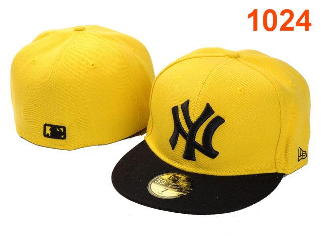 New York Yankees MLB Fitted Hat PT11