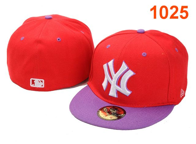 New York Yankees MLB Fitted Hat PT12