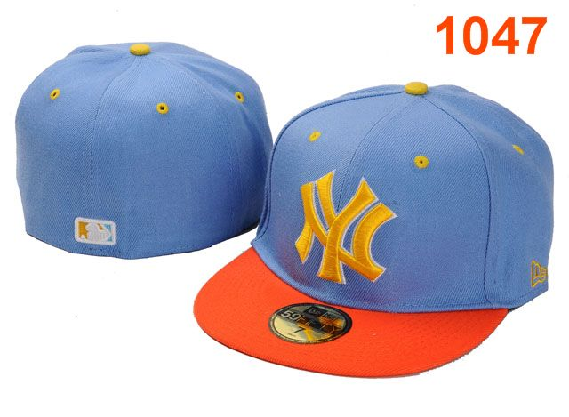 New York Yankees MLB Fitted Hat PT21