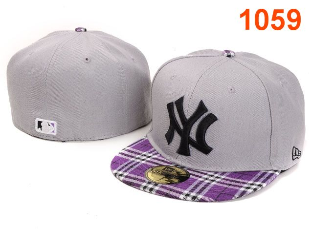 New York Yankees MLB Fitted Hat PT27