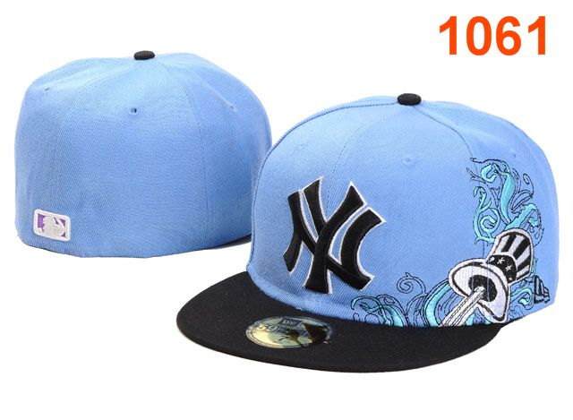 New York Yankees MLB Fitted Hat PT29