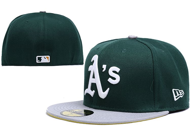 Oakland Athletics LX Fitted Hat 140802 0138