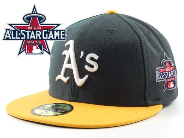 Okaland Athletics 2010 MLB All Star Fitted Hat Sf17