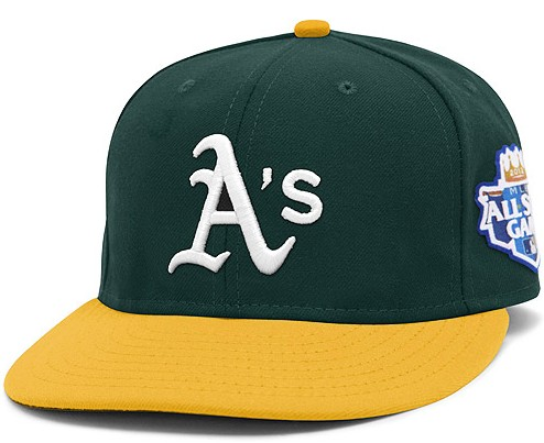 Okaland Athletics 2012 MLB All Star Fitted Hat SF11