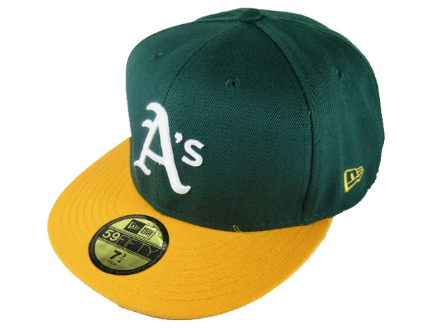 Okaland Athletics MLB Fitted Hat LX02