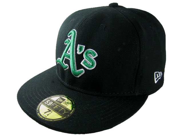 Okaland Athletics MLB Fitted Hat LX04