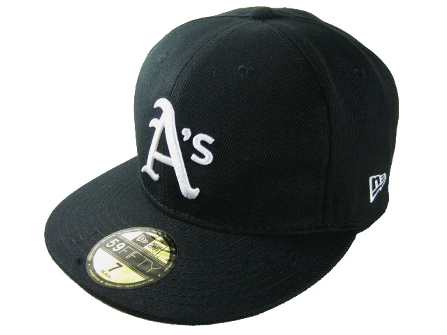 Okaland Athletics MLB Fitted Hat LX05