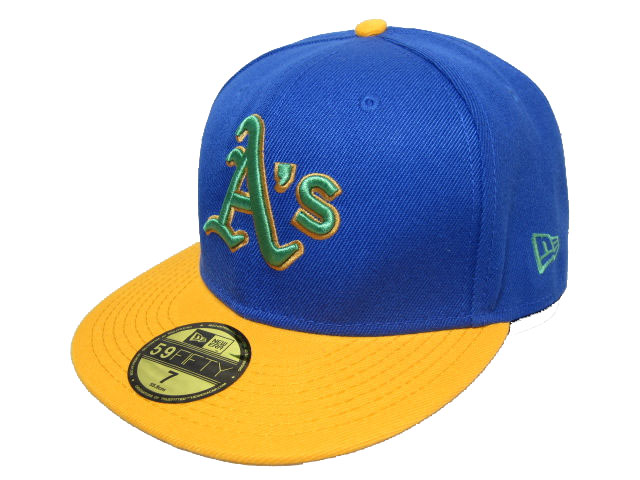Okaland Athletics MLB Fitted Hat LX06