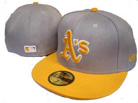 Okaland Athletics MLB Fitted Hat LX08