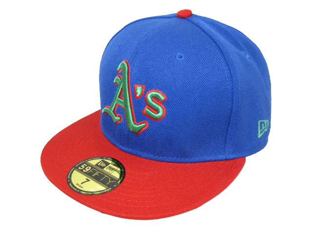 Okaland Athletics MLB Fitted Hat LX10