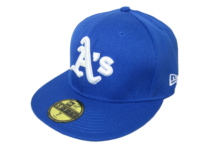 Okaland Athletics MLB Fitted Hat LX15
